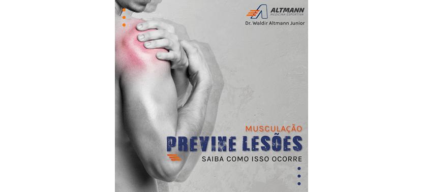 Musculação previne lesões