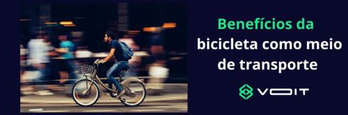 Benefícios da bicicleta como meio de transporte