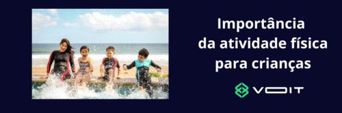 Importância da atividade física para crianças