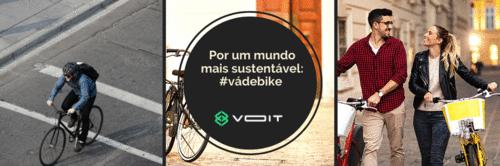 Por um mundo mais sustentável: #vádebike